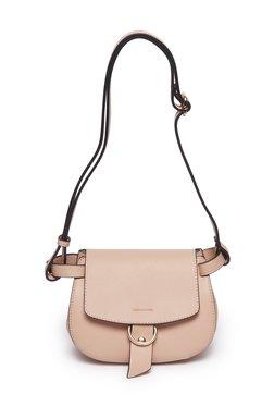 8a70b24aef63 LOV by Westside Pink Saddle Sling Bag