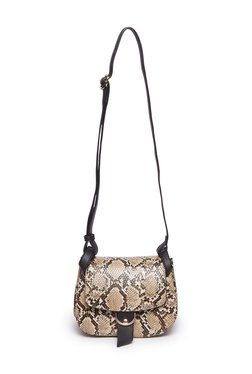 10a8a0baf LOV by Westside Brown Snake Print Sling Bag