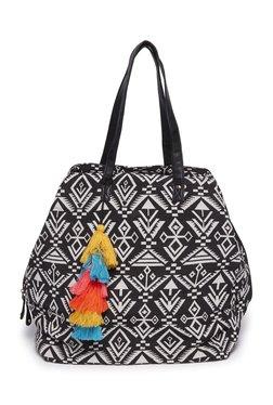 975b6c3740cf Westside Black Simone Aztec Print Tote Bag