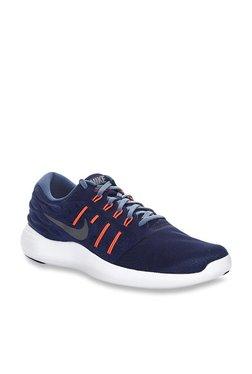 cheap for discount 6530a a5bcb Nike Lunarstelos Navy Running Shoes