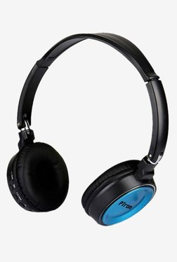 8466b3cff41 PTron Trips Over The Ear Bluetooth Stereo Headphones with Mic (BlackBlue)