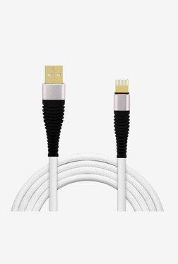 PTron Gravita USB Lightning Cable  White  PTron Electronics TATA CLIQ