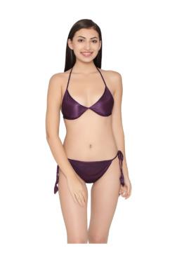 cc2e7992b5b Clovia Wine Bralette Bra   Bikini Set