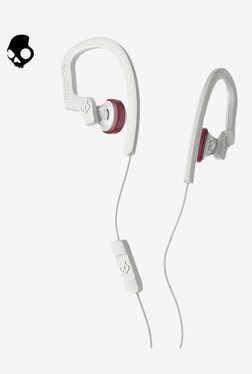 Skullcandy Chops Buds Flex S4CHY-L678 Wired Headphones with Mic (Vice/Gray/Crimson)