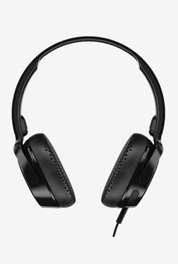 Skullcandy Riff S5PXY-L003 Over The Ear Headphones with Mic (Black)