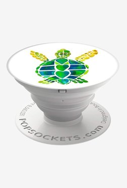 PopSockets Turtle Love Grip and Stand for Smartphones and Tablets (Multicolor)