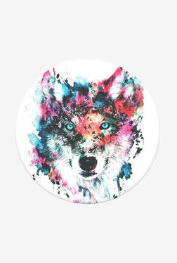 PopSockets Wolf Grip and Stand for Smartphones and Tablets (Multicolor)