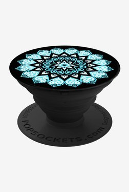 PopSockets Peace Mandala Sky Grip and Stand for Smartphones and Tablets (Multicolor)