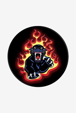 PopSockets Panther Flames Grip and Stand for Smartphones and Tablets (Multicolor)