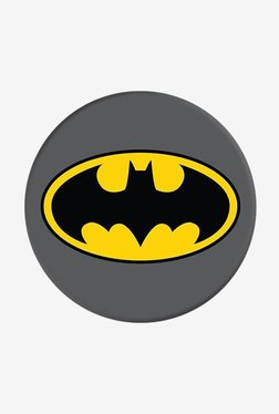 PopSockets Batman Icon Grip and Stand for Smartphones and Tablets (Grey)