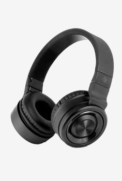 e126286a456 AT&T PBH20 Over-Ear Stereo Noise Cancelling Bluetooth Headphones with Built  in Mic (Black