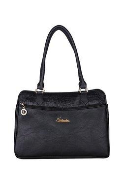 75bec109e20e Esbeda Black Textured Handbag