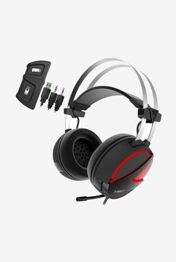Gamdias HEBE E1 RGB Wired Over The Ear Gaming Headset with Mic (Black)
