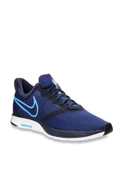 a5eb67ebabf44 Nike Zoom Strike Blue Running Shoes