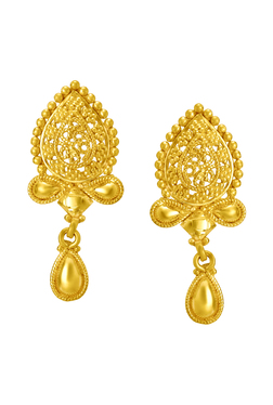Buy Tanishq Earrings Upto 10 Off Online Tata Cliq