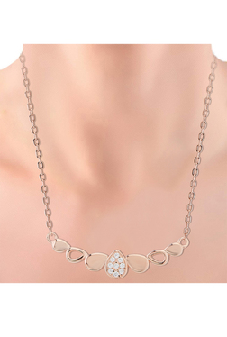 eb24d313033 Silver Necklaces | Buy Silver Necklaces Online in India at Tata CliQ
