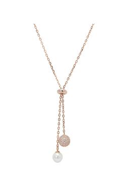 Izaara 92.5 Sterling Silver Necklace