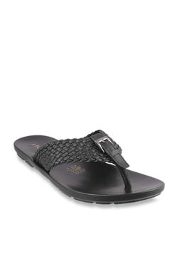 0c7a938438c J. Fontini by Mochi Black Thong Sandals