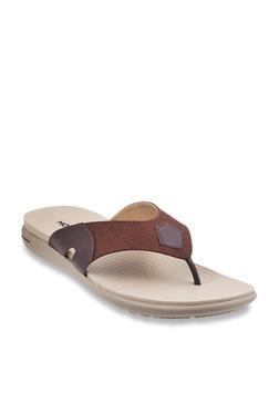 e23142bae Mochi Brown Thong Sandals