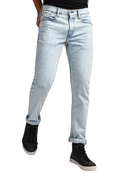 34648b4a9 Levi s 511 Blue Heavily Washed Solid Slim Fit Jeans