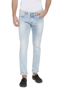 eecf430b68 Spykar Light Blue Skinny Fit Low Rise Jeans