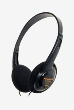Panasonic RP-HT6E-K On The Ear Headphones (Black)