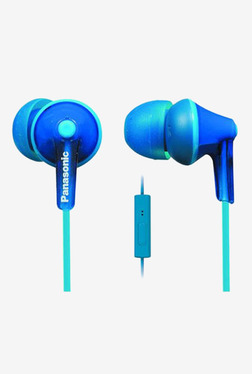 Panasonic RP-TCM115E-A Earphones With Mic (Blue)