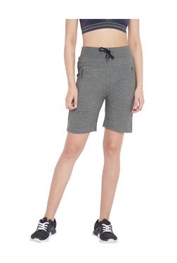 3db881ee1b2 C9 Green Cotton Regular Fit Sports Shorts