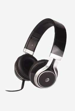 AT&T Jive HPM10 Over The Ear Headphones with Mic (Black)