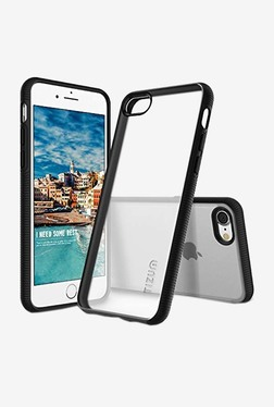 Tizum IntelliClear Hybrid Back Cover with Advanced Impact Protection for iphone 7 (Black)