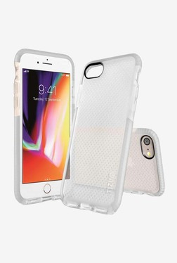 Tizum IntelliMesh Back Cover with Advanced Impact Protection for iphone 8 (Grey)