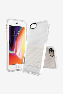 Tizum IntelliMesh Back Cover with Advanced Impact Protection for iphone 8 (White)
