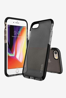 Tizum IntelliMesh Back Cover with Advanced Impact Protection for iphone 8 (Black)