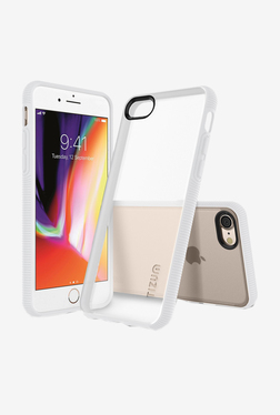 Tizum IntelliClear Hybrid Back Cover with Advanced Impact Protection for iphone 8 (Transparent)