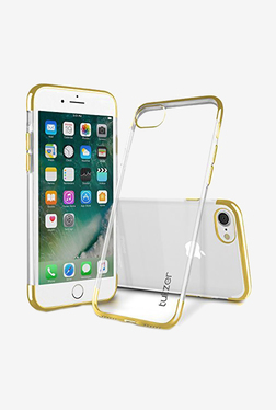Tukzer Electro Plating Super Flexible Soft TPU Back Case Cover for Apple iPhone 7 (Gold)