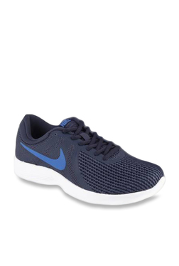 8776a96f8d9a31 Nike Revolution 4 Navy Running Shoes