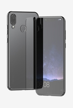 Brain Freezer 3D Elect Soft TPU Transparent Back Case for Huawei Honor Play (Black)