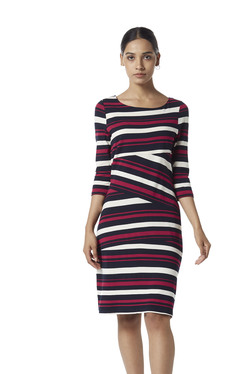 ca11b81b13 Wardrobe by Westside Red Striped Dress