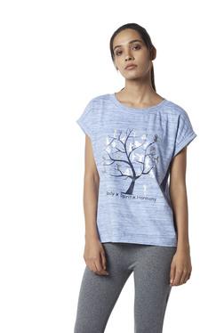 3beff8120e19e2 Studiofit by Westside Light Blue Power T-Shirt