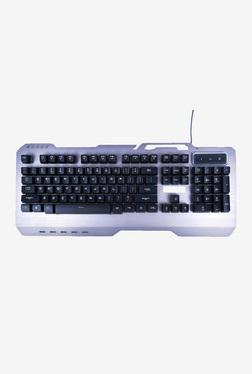 Live Tech KB 05 Premium Multimedia Metallic USB Gaming Keyboard (Grey)