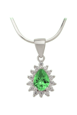 Orderly .925 Sterling Silver Oval With Butterfly & Cz Locket Charm Pendant Msrp $136 Fine Necklaces & Pendants Fine Jewelry