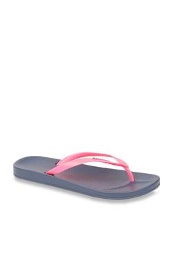 03ecf43a0a4e Ipanema Anatomic Fem Pink   Navy Flip Flops
