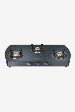 Prestige Premia GTS 03 L D 40170 3 Burners Gas Stove (Black)