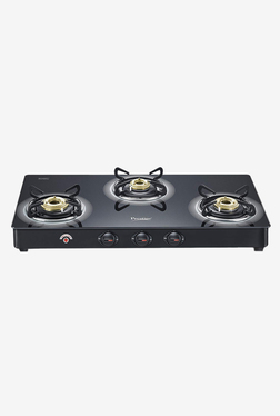 Prestige Royale Plus GT 03L AI 40205 3 Burners Gas Stove (Black)