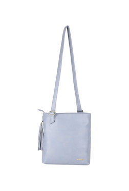 Fastrack Blue Tassel Sling Bag