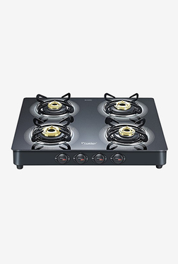 Prestige Royale Plus GT 04 40278 4 Burners Gas Stove (Black)