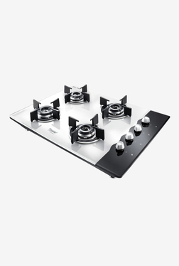 Prestige Hobtop PHTS 04 AI 40558 4 Burners Gas Stove (Black/White)