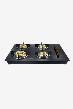 Prestige Hobtop Gold PHTG 04 E-Series 40564 4 Burners Gas Stove (Black)
