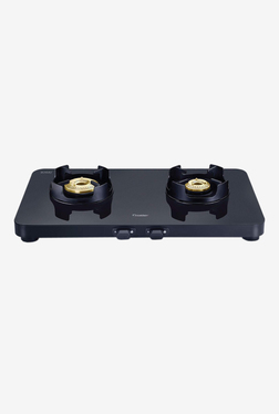 Prestige Edge PEBS 02 40090 2 Burners Gas Stove (Black)