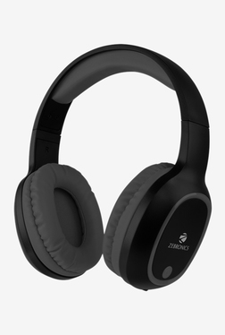 Zebronics Thunder Bluetooth Over The Ear Headphone (Black)